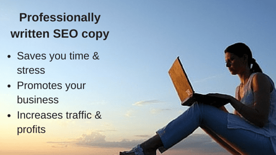 Professionally written SEO copy